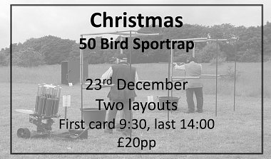 Christmas 50 Bird Sportrap Competition