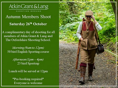 Members Shoot Autumn 2019