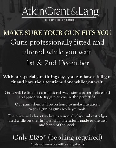 Gun Fit 'While You Wait'