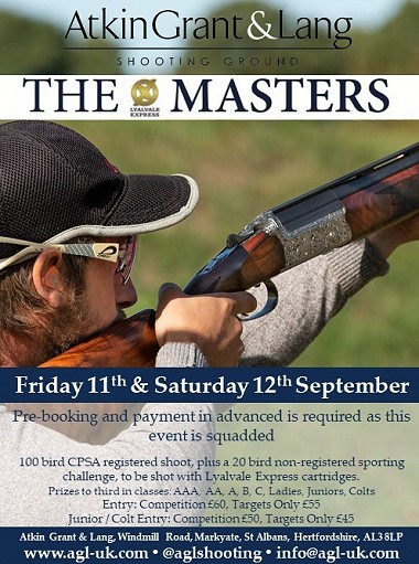 The Lyalvale Express Masters Sept 2020