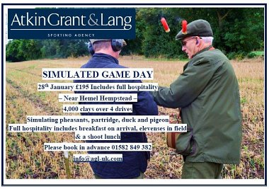 Simulated Game Day -  28th January 2017