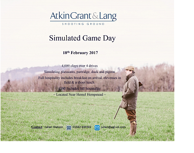 Simulated Game Day - February