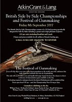 Details released - British Side by Side & Festival of Gun Making